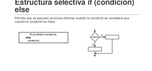 Estructuras Selectivas Simple Doble Y Multiple